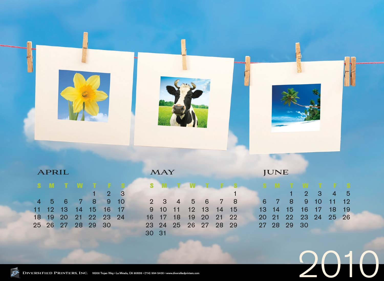Diversified Printers Poster (Spring)