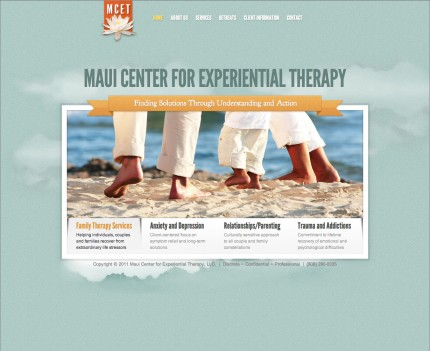 Website for Maui Center for Experiential Therapy